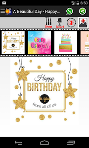 Download Happy Birthday Card Draw Voice Photo Mask 120 APK
