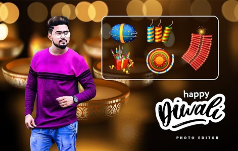 screenshot of Happy Diwali Photo Editor - Diwali Photo Frame version 1.1