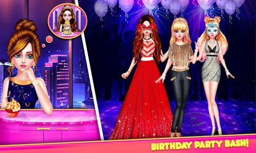 screenshot of Happy Sweet Sixteen Birthday: Games for Girls version 2.1