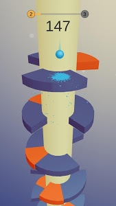 screenshot of Helix Ball version 1.2.5