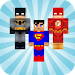 Heroes Skins for Minecraft PE