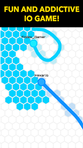 screenshot of Hexar.io - io games version 1.5.0