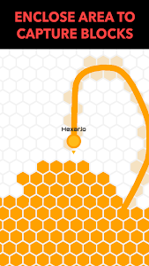 screenshot of Hexar.io - io games version 1.6.1