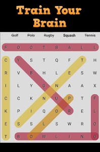 screenshot of Hidden Words Search Puzzle version 1.0