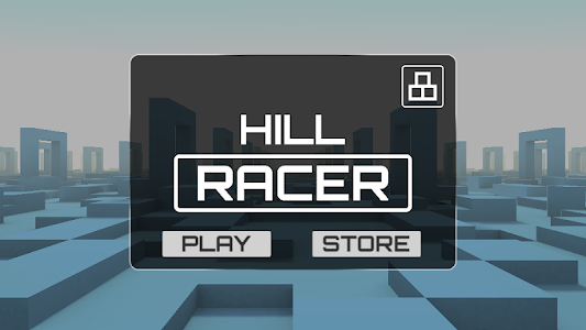 screenshot of Hill Racer version 0.3