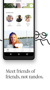 screenshot of Hinge: Dating & Relationships version 5.5.3