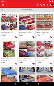screenshot of HomeShop18 Mobile version 3.2.8
