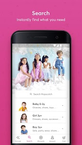 screenshot of Hopscotch - India's largest kids fashion brand version 2.9.4