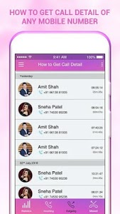 screenshot of How to Get Call Detail of any Number:Call History version 1.0