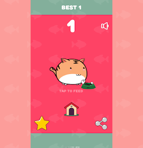 screenshot of Hungry Jumping Cat (Free cats game) version 1.0