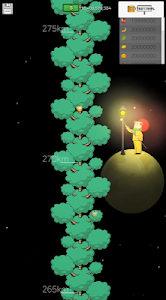 screenshot of INFINITY TREE version 250
