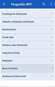 screenshot of Meu Imposto de Renda version 5.2.0