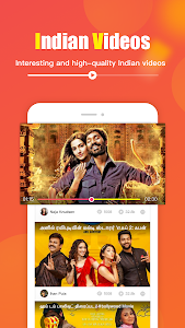 screenshot of InTube-your Indian Short Video App version 1.2.7