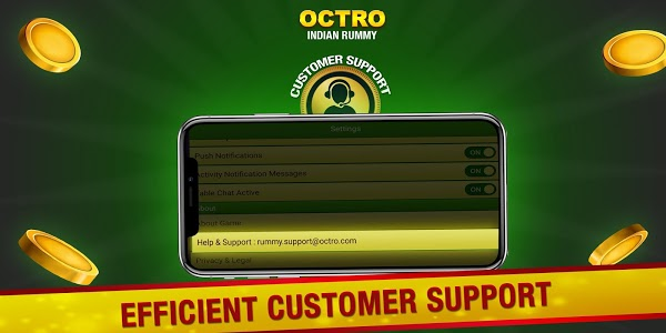 screenshot of Indian Rummy (13 & 21 Cards) by Octro version Varies with device