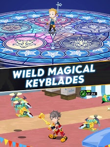 screenshot of KINGDOM HEARTS Unchained χ version 1.1.2