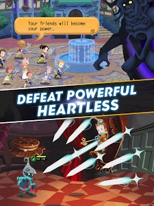 screenshot of KINGDOM HEARTS Unchained χ version 1.2.1