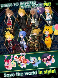 screenshot of KINGDOM HEARTS Union χ[Cross] version 2.5.1
