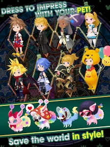 screenshot of KINGDOM HEARTS Union χ[Cross] version 2.7.0