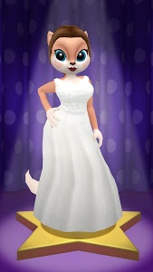 screenshot of Kimmy Superstar: Talking Fashion Cat version 3.6