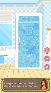 screenshot of Kiss game - Lover's daily life version 1.0.1