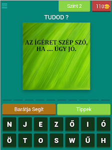screenshot of Közmondások - Hungarian Proverbs version 4.16.0z