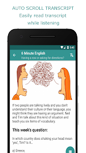 screenshot of Learning English for BBC - Practice Listening version 3.9.0