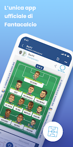 screenshot of Leghe Fantacalcio ® version 6.1.7