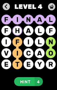 screenshot of Letter Combination version 1.4.9z