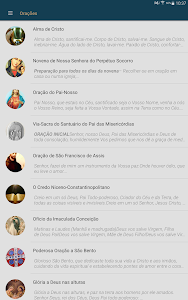 screenshot of Liturgia Diária - Canção Nova version 3.0.4