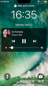 screenshot of Lock Screen phoneX style for Android version 1.0.1