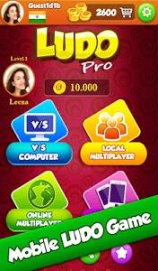 screenshot of Ludo Pro : King of Ludo's Star Classic Online Game version 1.5