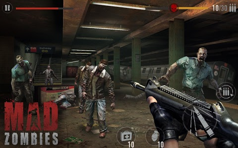 screenshot of MAD ZOMBIES version 5.4.0