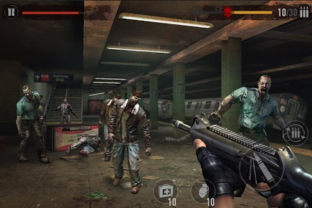 screenshot of MAD ZOMBIES ® version 5.1.0
