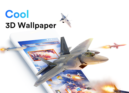 screenshot of ME Launcher - 3D Wallpaper, Themes, Fast version 1.9.10