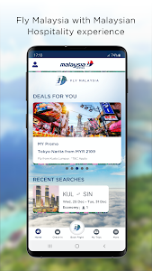 screenshot of Malaysia Airlines version Varies with device