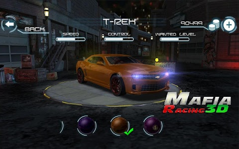 screenshot of Mafia Racing 3D version 2.1