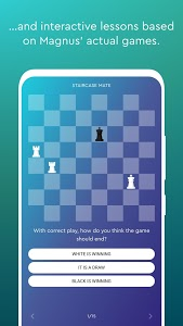 screenshot of Magnus Trainer - Learn & Train Chess version A1.7.14