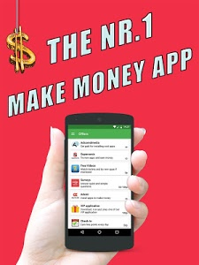 screenshot of Make Money App version 1.8.0