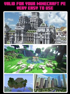 screenshot of Maps for Minecraft Pocket Edition version 2.10