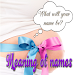 Meaning of names for your Baby