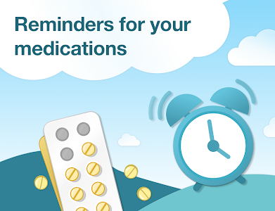 screenshot of Pill Reminder & Medication Tracker - MyTherapy version Varies with device