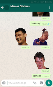 screenshot of \ud83d\ude02Meme Stickers for WAStickerApps version 2.5