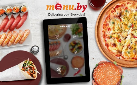 screenshot of Menu.by — restaurant food delivery version 1.0.1.3