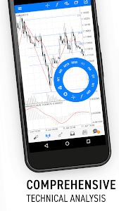 screenshot of MetaTrader 5 version Varies with device