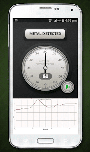 screenshot of Metal Detector version 1.13