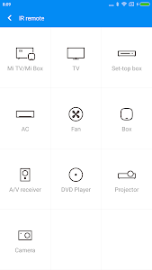 screenshot of Mi Remote controller - for TV, STB, AC and more version 5.4.9B