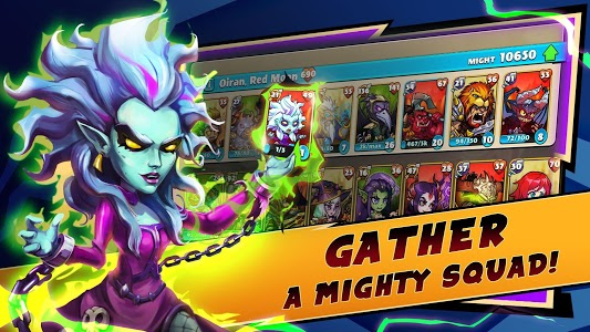 screenshot of Mighty Party: Epic Battle Turn Based Strategy RPG version 1.38