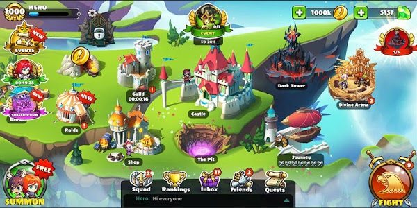 screenshot of Mighty Party: Heroes Clash version 1.16