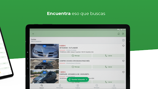 screenshot of Milanuncios: Segunda mano, motor, pisos y empleo version 4.9.0