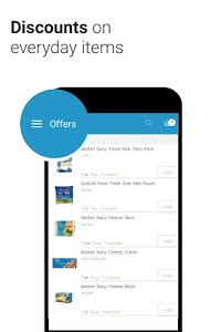 screenshot of Milkbasket - Hasslefree Daily Grocery Delivery version 3.4.5